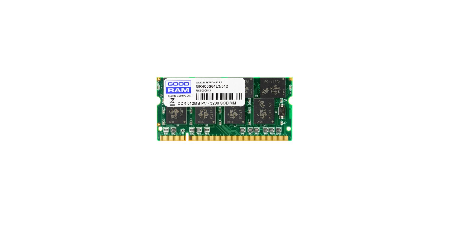 Moduł DDR1 SODIMM