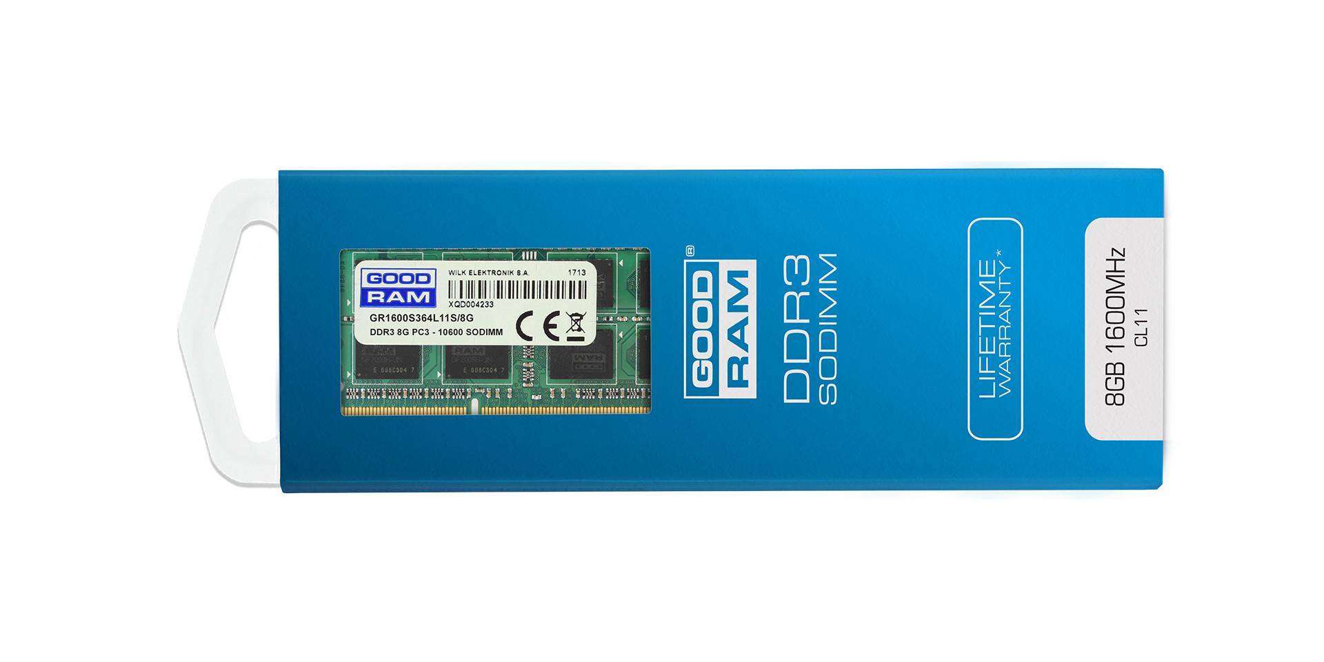DDR3 SODIMM blister