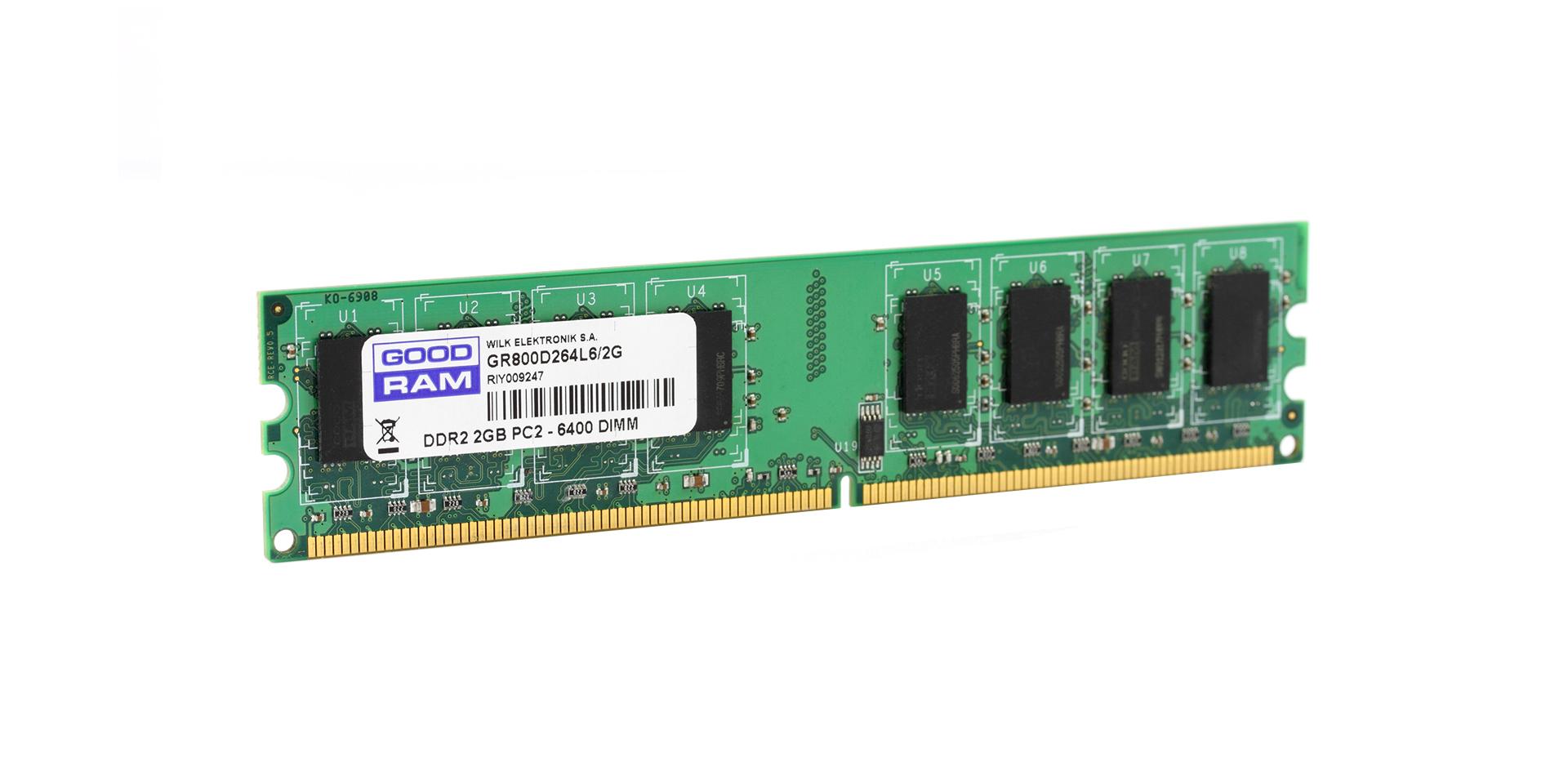 Ddr2 Dimm Dram Goodram 2gb Pet Memory Module