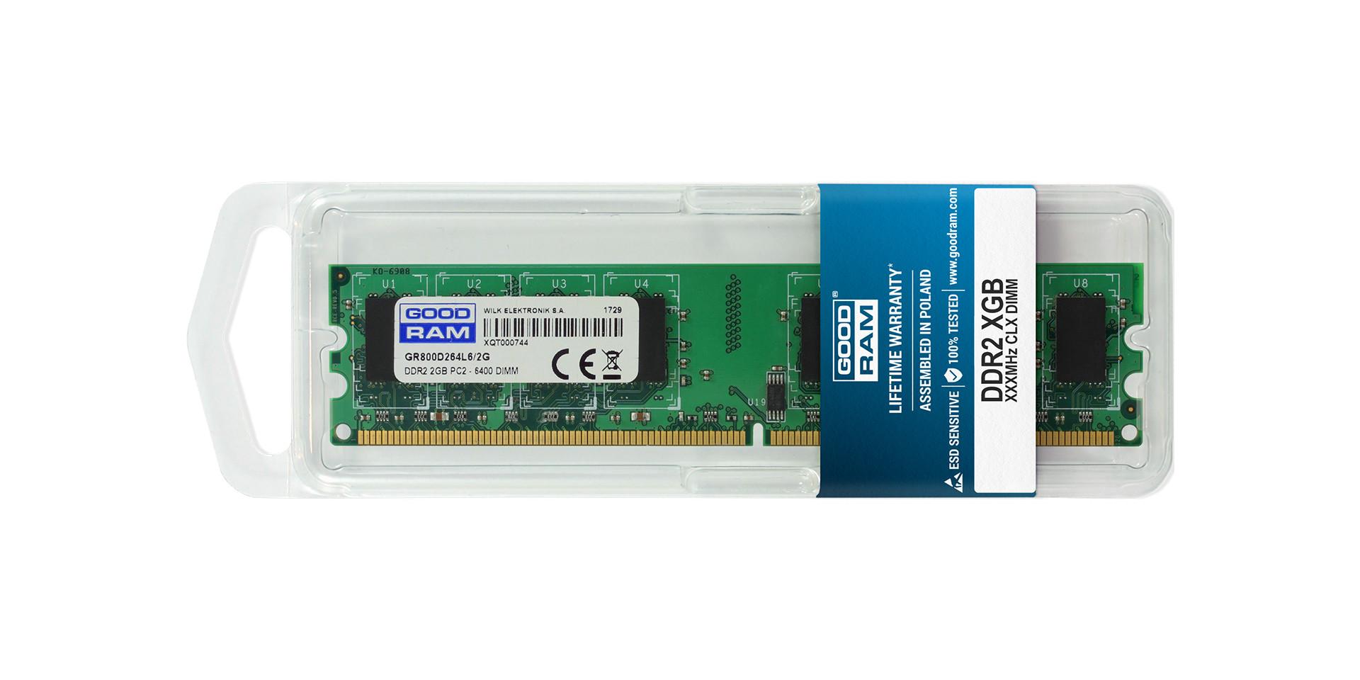 DDR2 DIMM DRAM blister