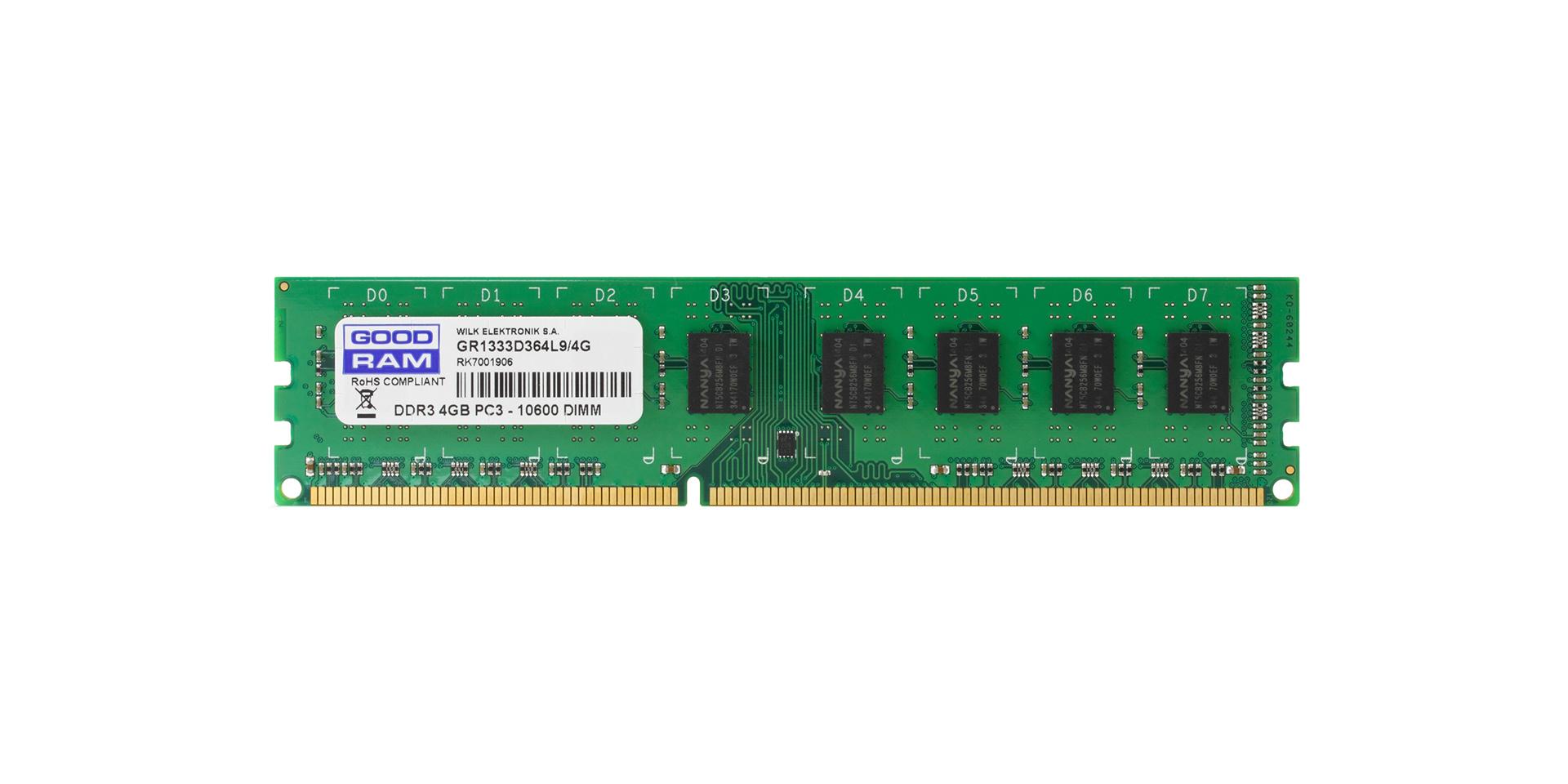 Moduł DRAM DDR3