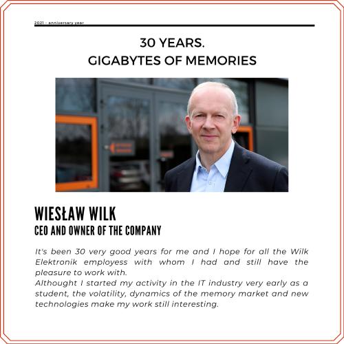 Wieslaw Wilk CEO of Wilk Elektronik
