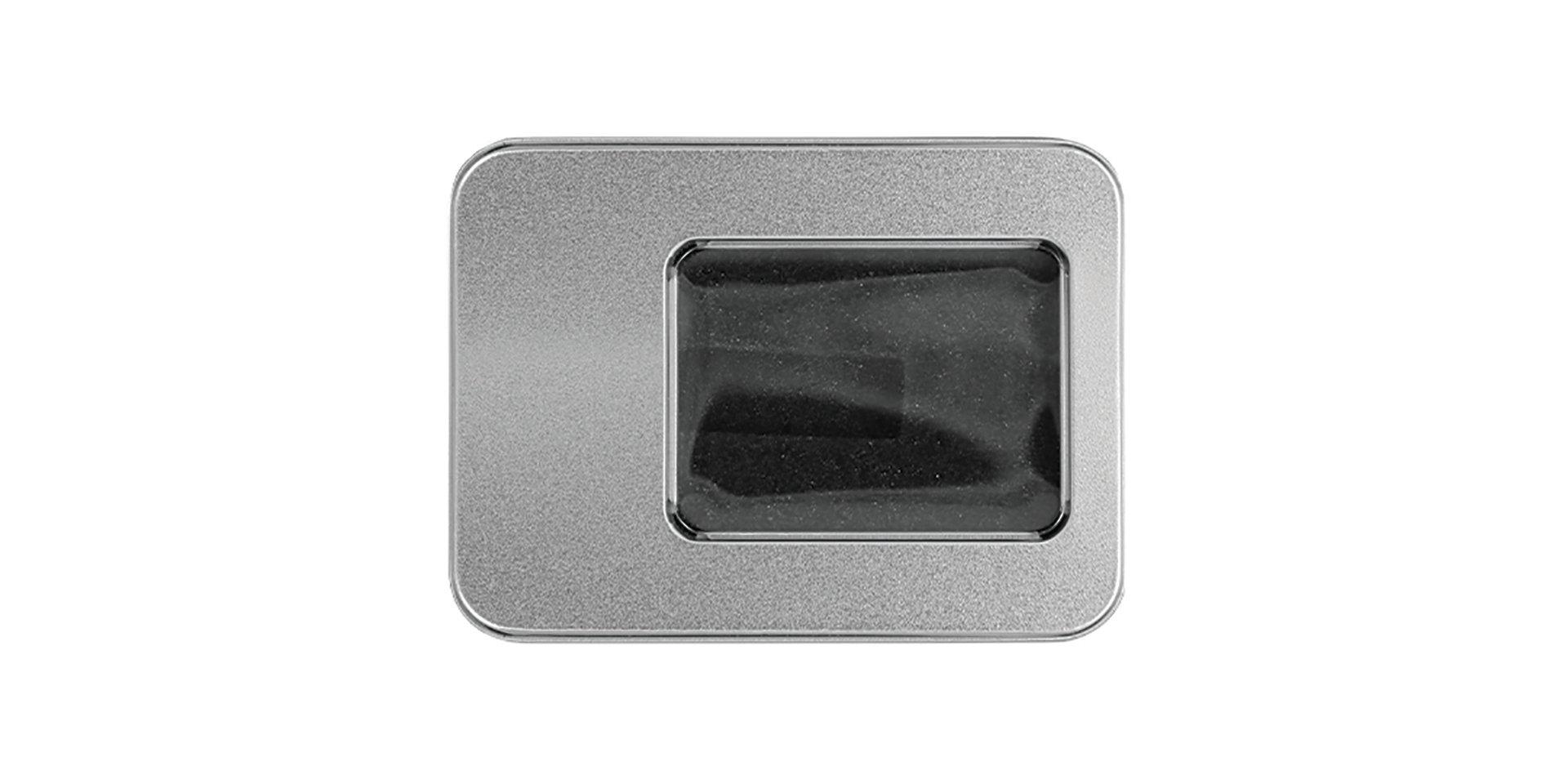 Foam fill metal USB case