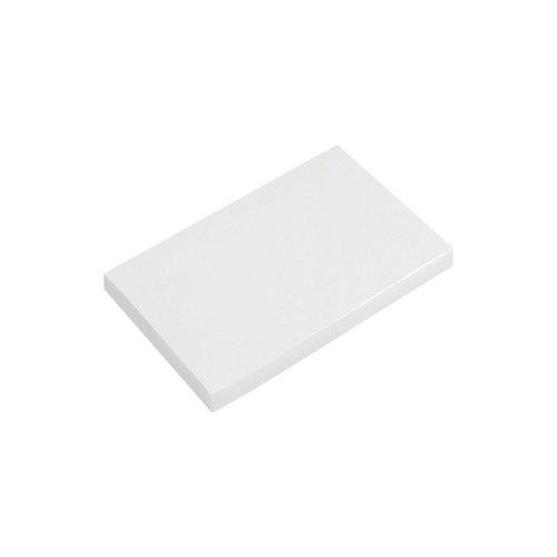 Białe tekturowe etui na USB w kształcie kart