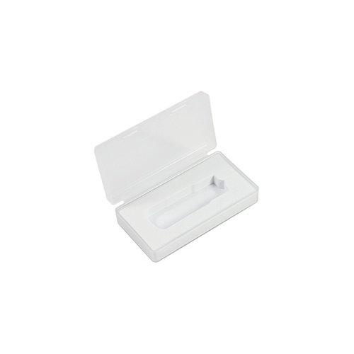 Estuche USB de plástico con pestaña