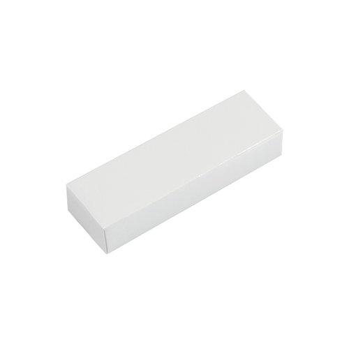 małe białe etui na pamięci USB