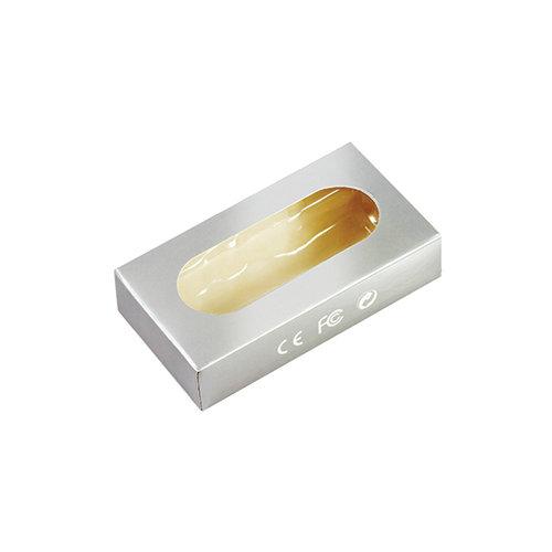 Tekturowe pudełko z okienkiem na pamięci USB