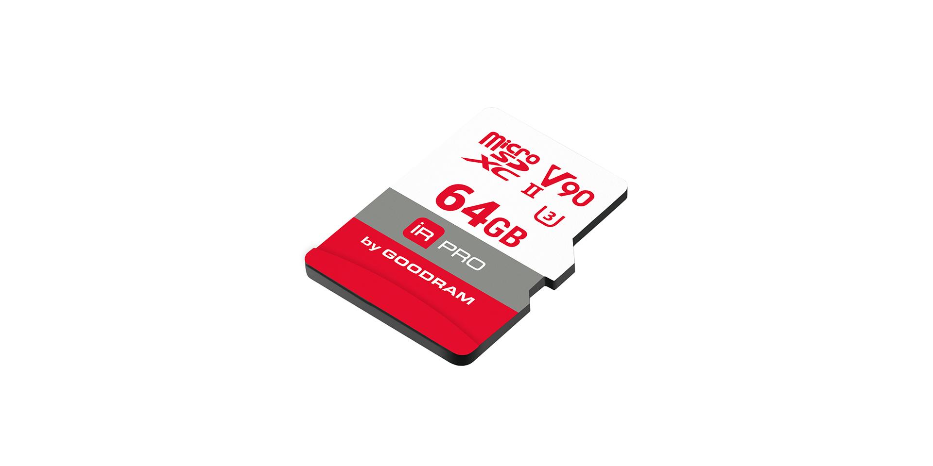 быстро карта micro IRDM PRO series
