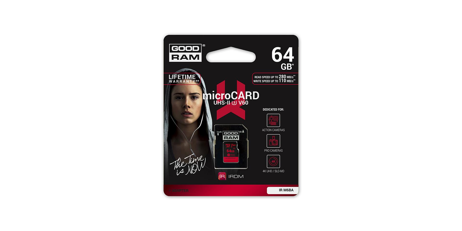 Microcard di blister serie IRDM