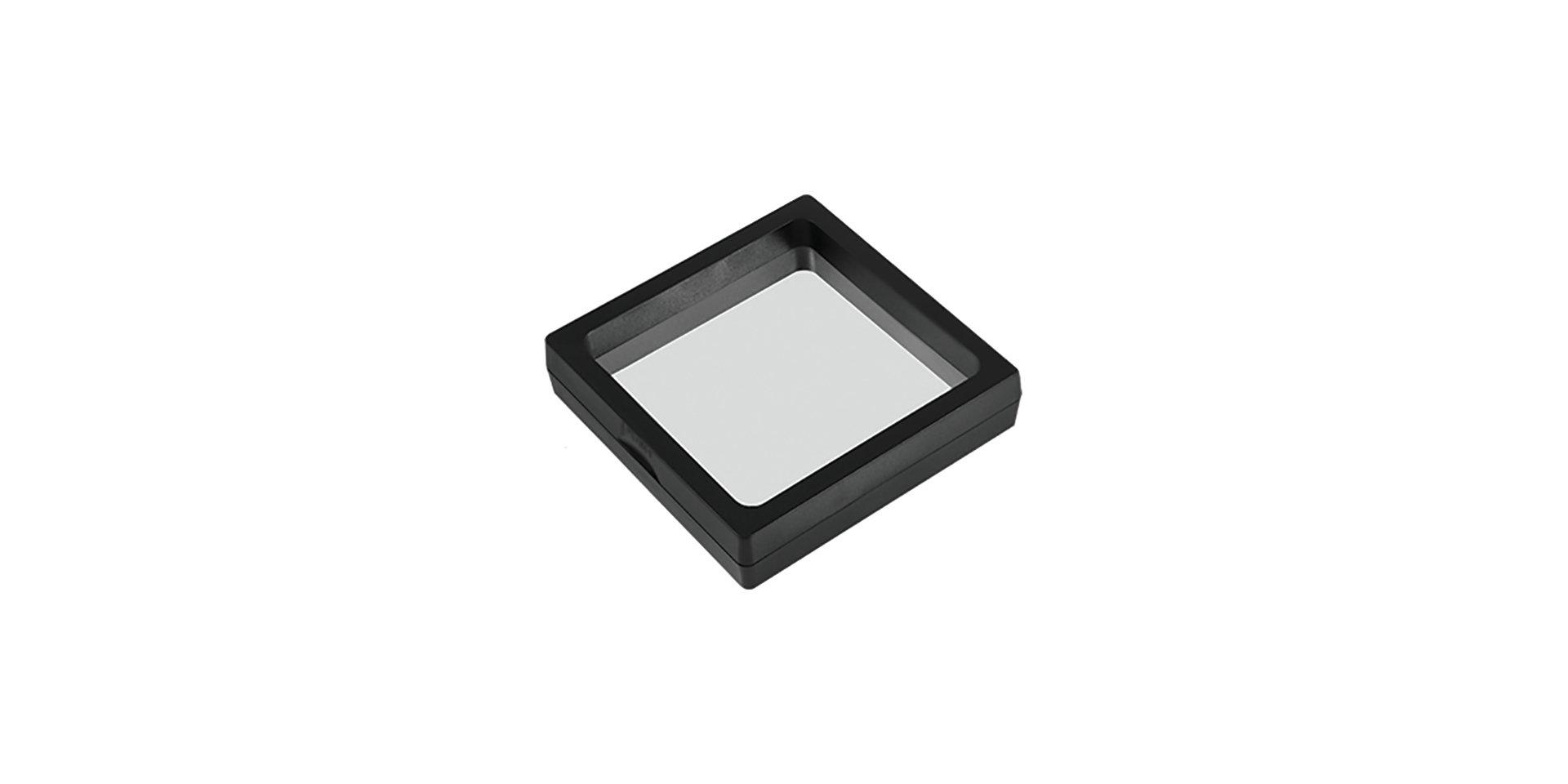 Black USB frame