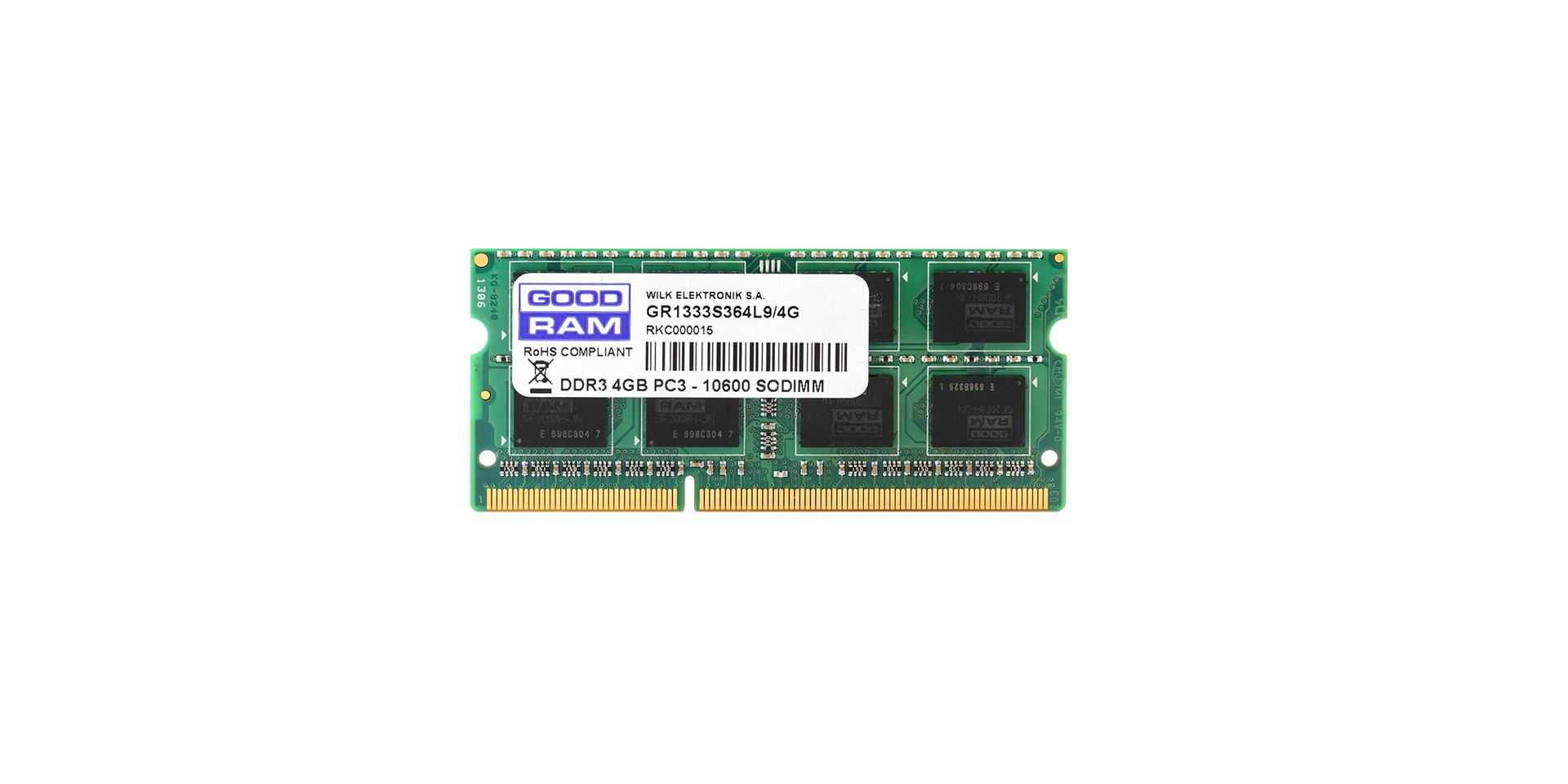 SODIMM gen. DDR3