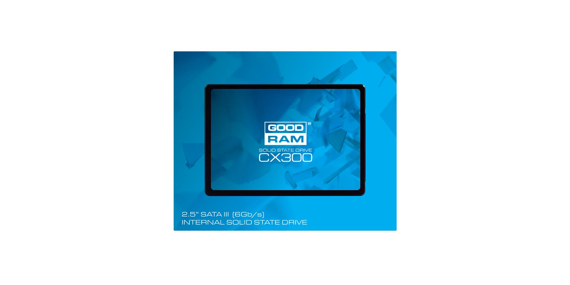 CX300 SSD box