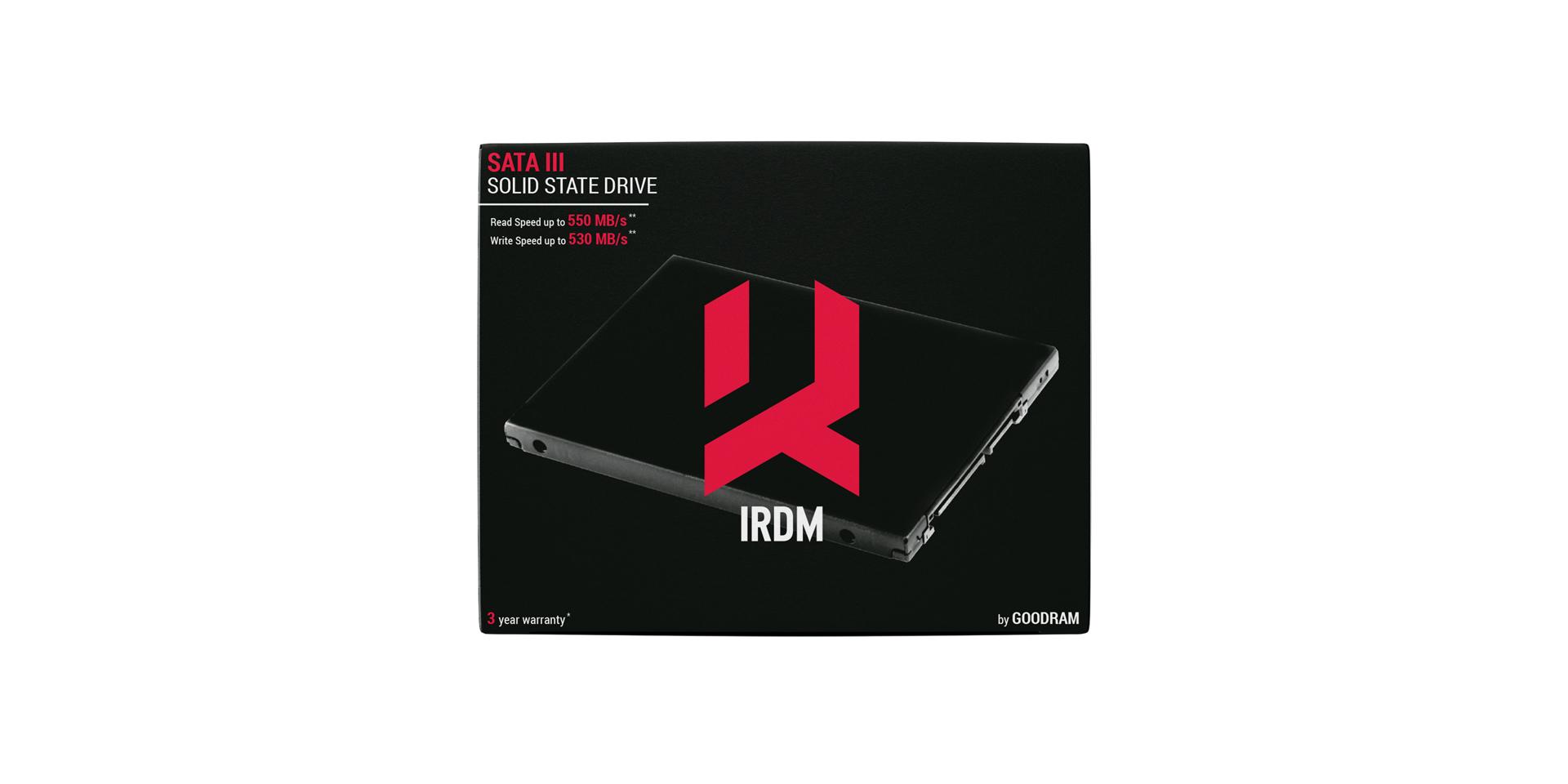 IRDM SSD box