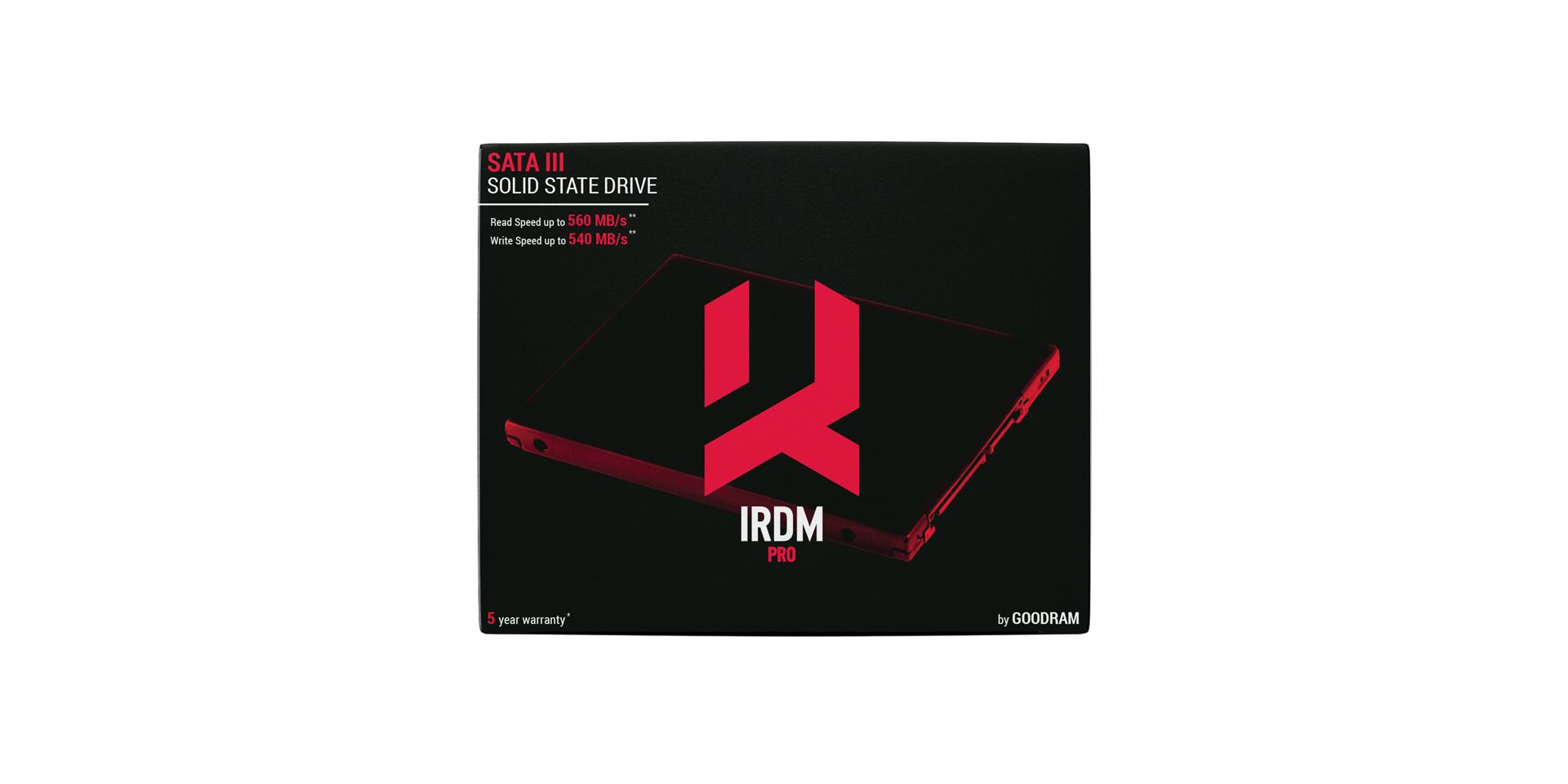 IRDM PRO SSD box