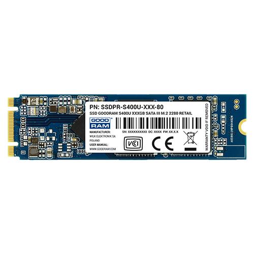 S400u SATA III M.2. 2280 SSD