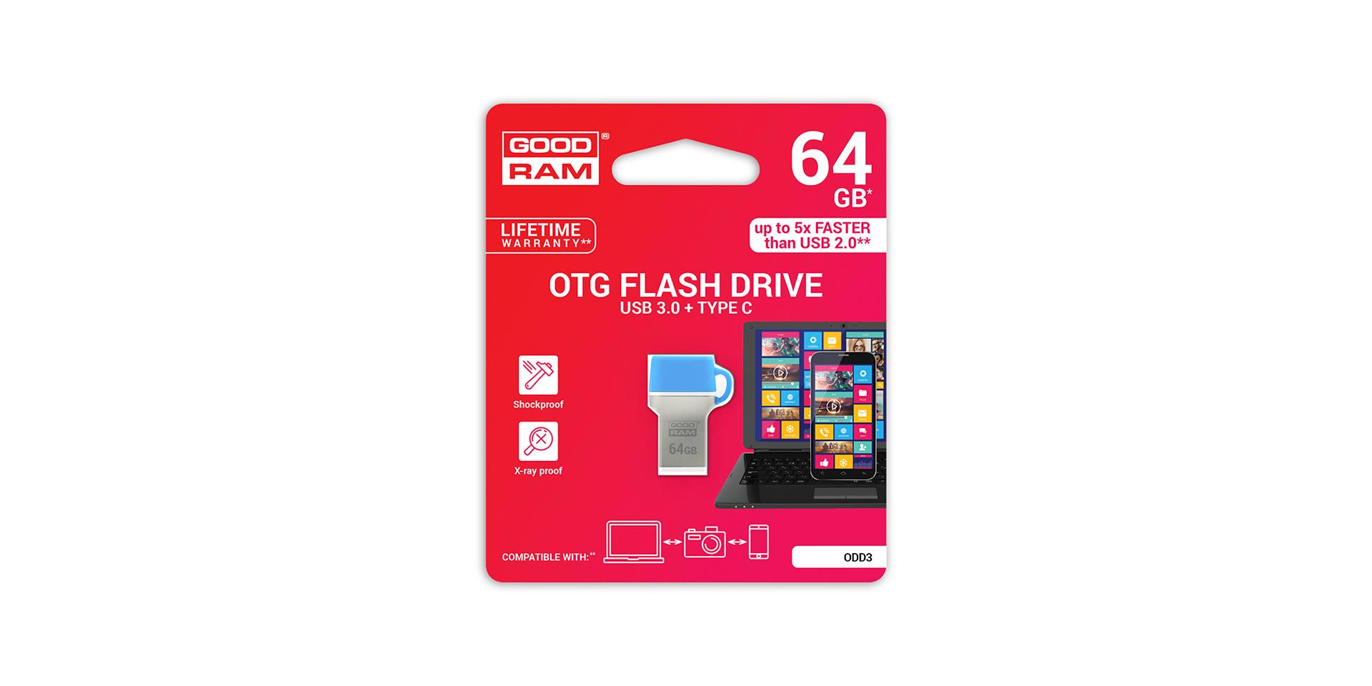 ODD3 USB blister