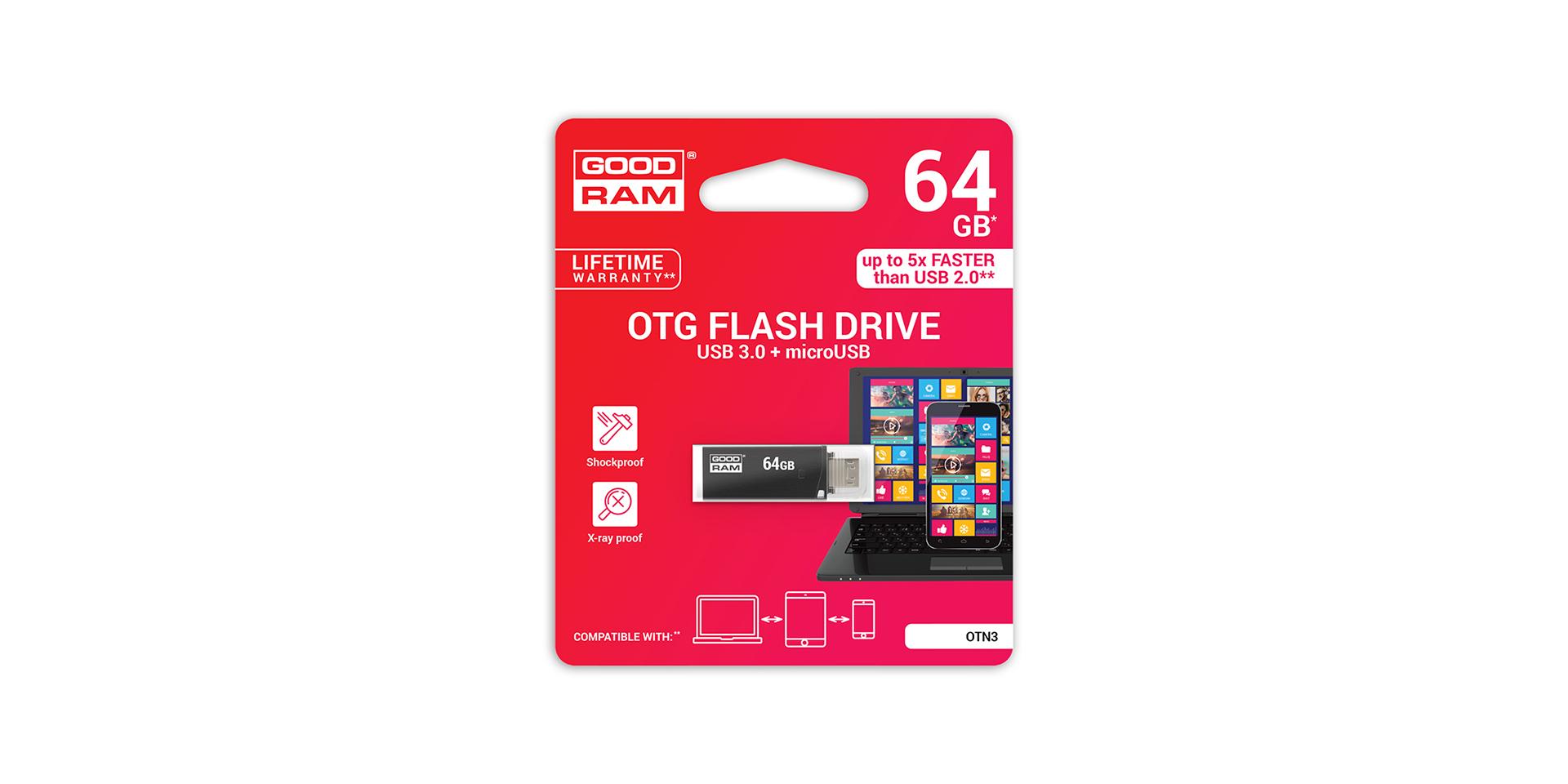 OTN3 USB blister
