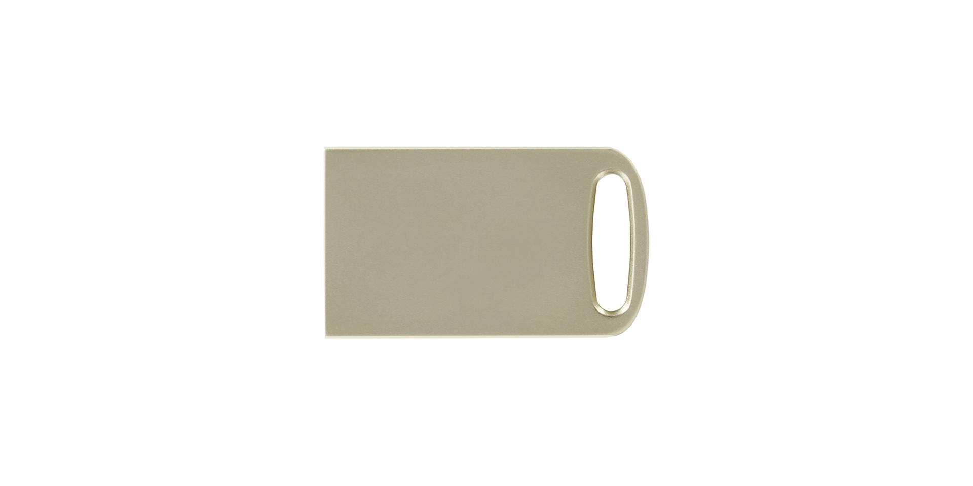 Маленький серебряный USB