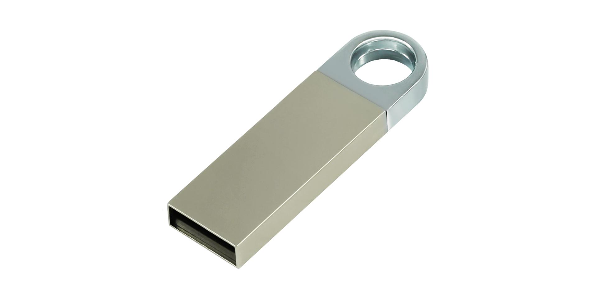 Flash drive de plata