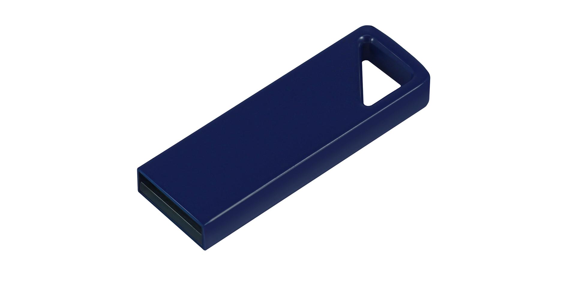 Blaues klassisches USB