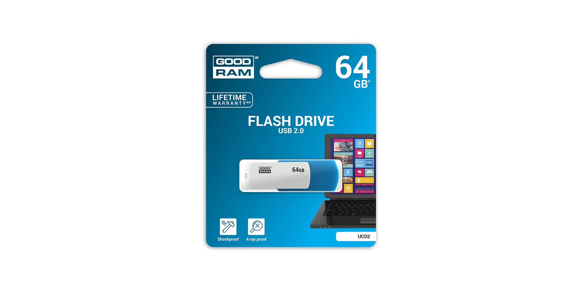 UCO2 USB blister