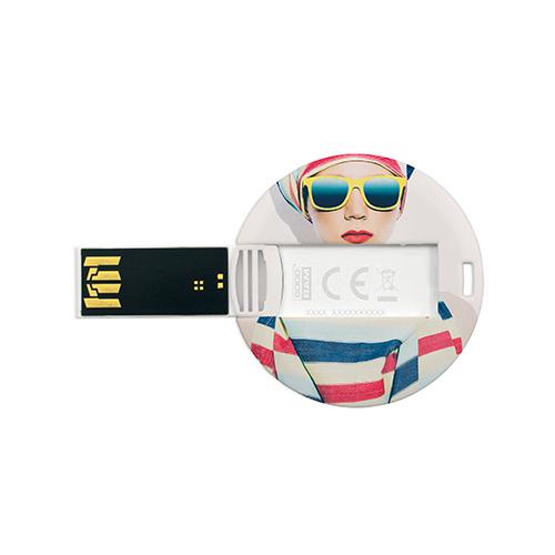 Scheda USB rotonda
