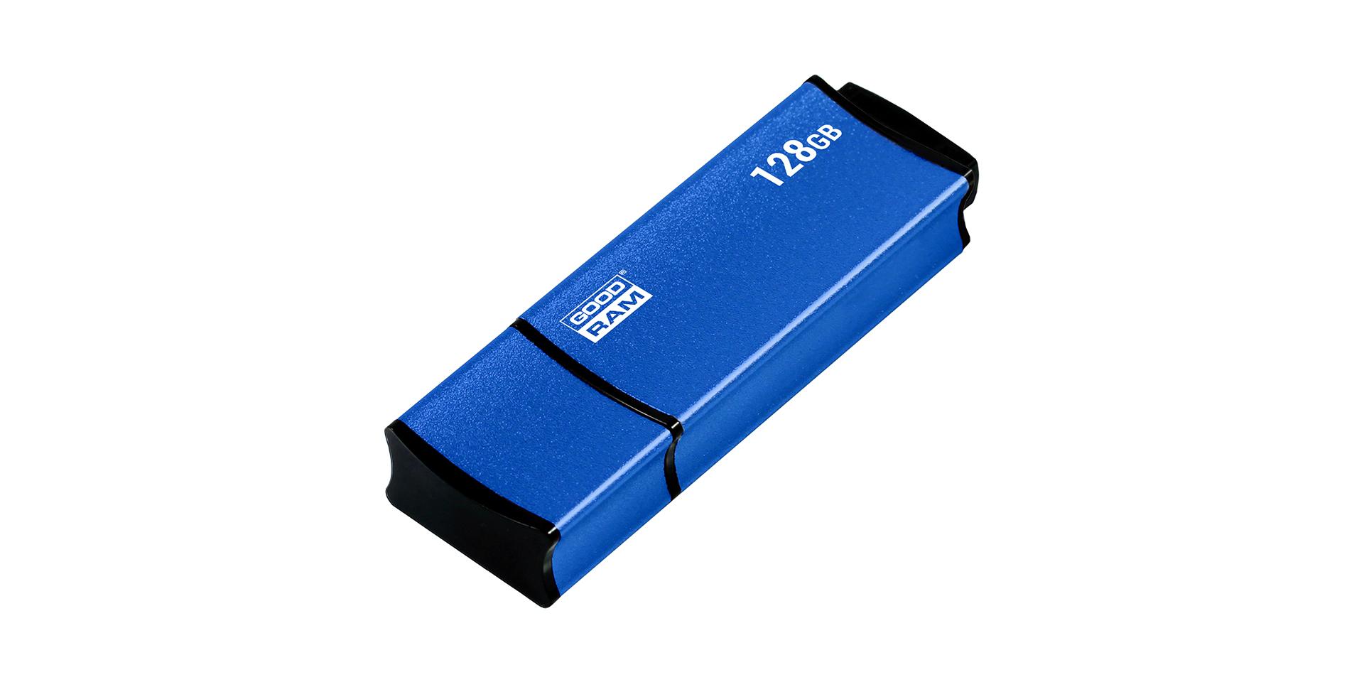 USB w niebieskiej obudowie